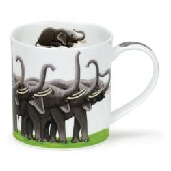 MUG ORKNEY SHOW-OFFS ELEPHANTS