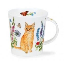 MUG LOMOND FLORAL CATS - ROUX